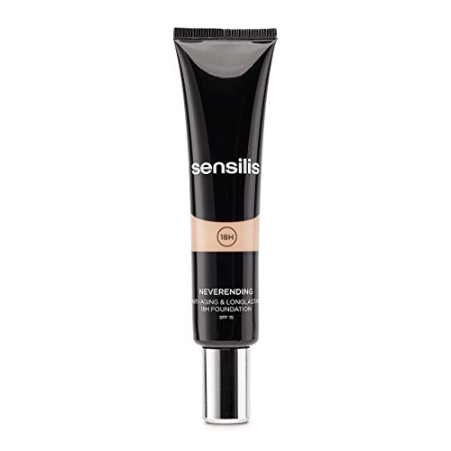 Sensilis Neverending Base Maquillaje Antiedad 01 Amande Spf 15-30 ml