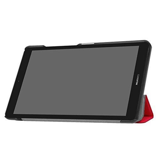 Huawei MediaPad T3 7 Hülle, Xinda Ultra Slim Lightweight Schutzhülle Etui Tasche für Huawei MediaPad T3 7.0 Zoll (Wifi BG2-W09) Tablet( NOT for Huawei MediaPad T3 7 LTE!) - 5