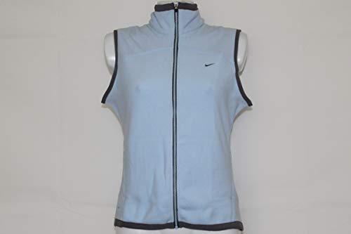 Nike Damen Fleece Weste Tennis hellblau Gr. XL