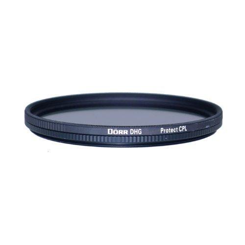 Dörr DHG Zirkular Polfilter 95 mm mit extrem Flacher Filterfassung/beidseitige 10-fache Mehrschichtvergütung