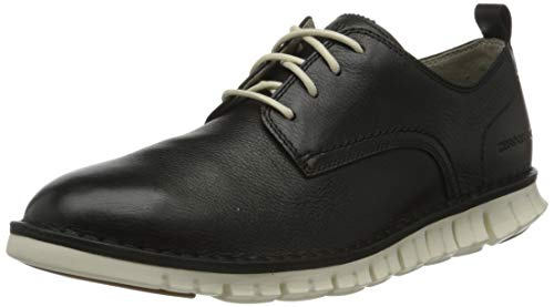 Cole Haan Zerogrand Stitchout Oxford, Scarpe Stringate Derby Uomo, Black (Black Leather/Ivory Black Leather/Ivory), 41 EU