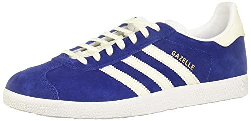 adidas Herren Gazelle Fitnessschuhe, Blau (Mystery Ink F17/Off White/Ftwr White), 44 EU
