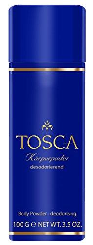 Tosca femme/woman, Körperpuder, 1er Pack (1 x 100 g)