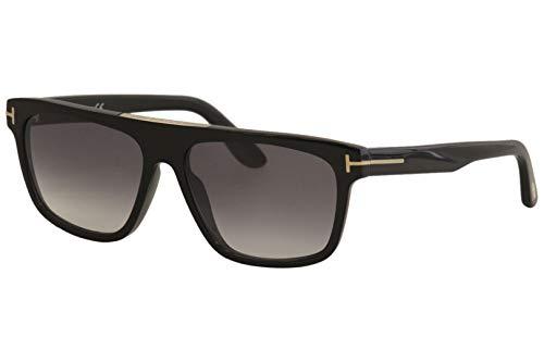 Sunglasses Tom Ford FT 0628 Cecilio- 02 01B shiny black/gradient smoke,...