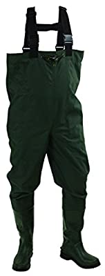 Frogg Toggs Cascades 2-Ply Rubber Bootfoot Cleated Chest Wader
