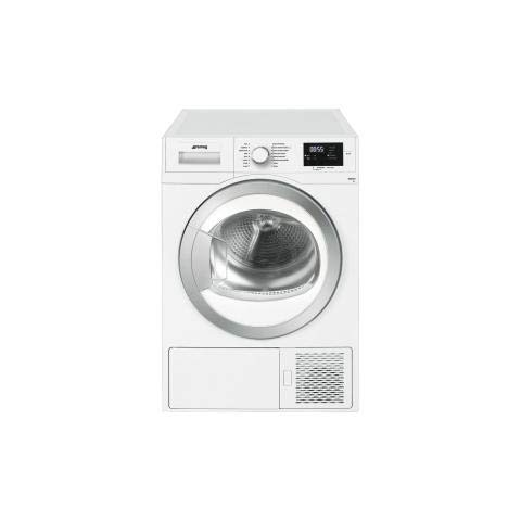 Smeg DHT81EIT freestanding Front-load 8kg A+ White tumble dryer - Tumble Dryers (Freestanding, Front-load, Heat pump, White, Rotary, Right)