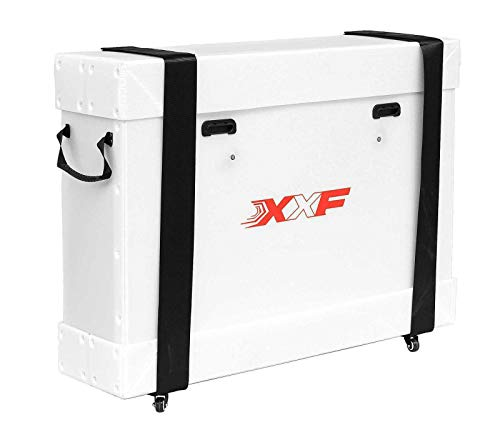 """CyclingDeal XXF Bicycle Travel Bag ECO Case White for 700c Road Bike 26"""" 27.5"""" MTB"""