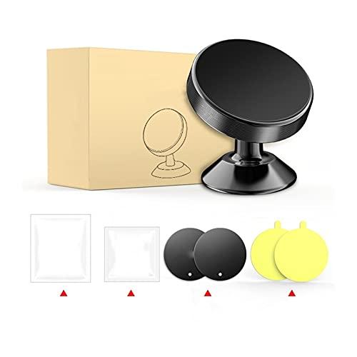 YJHL Qiqibh Soporte de teléfono magnético Tenedor de teléfono magnético para X-IAOMI Teléfono para H-UAWEI para S-AMSUNG para Titular DE TELÉFONO L-G (Color : Black with Box)