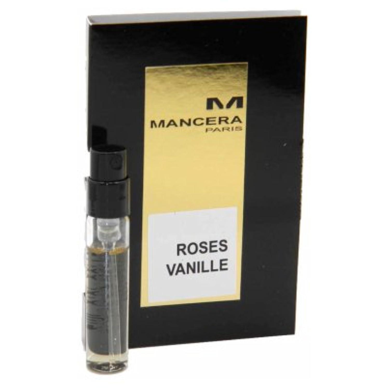 遺棄された地上の運ぶMancera Roses Vanille EDP Vial Sample 2ml(マンセラ ローゼズ ヴァニーユ オードパルファン 2ml)[海外直送品] [並行輸入品]