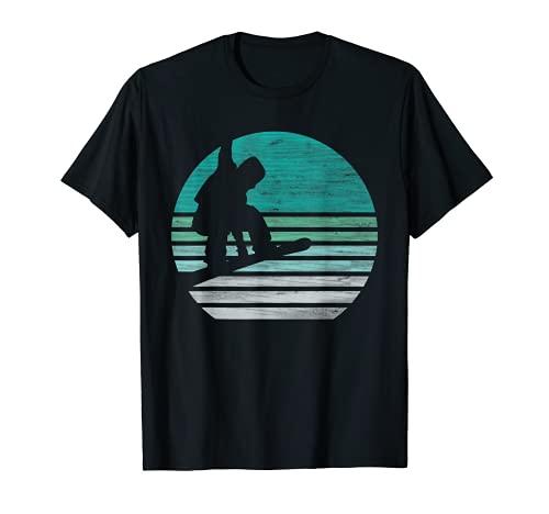 Retro Snowboard T-Shirt