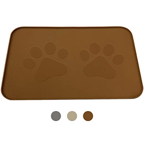 iPrimio Dog Feeding Mat with Paw Logo
