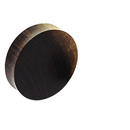 3mm solid solid Erstohrstecker Qualität hochwertigen Materialien aus Naturholz Big Sound Tunnel Prüfdorns Sattel