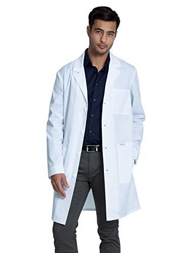 Cherokee Men & Women Scrubs Lab Coat 38'' Plus Size CK460, 2XL, White