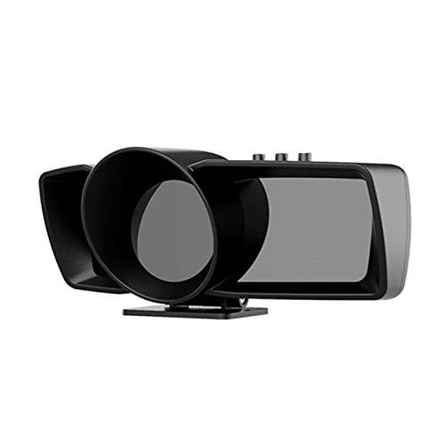 MRlegendary Coche Universal Head Up Display Ap-7 OBD + GPS Sistema Dual, Muestra Velocidad RPM/Motor Código De Falla Alarma Unidireccional Kilometraje, Voltaje, Aceleración, Etc.