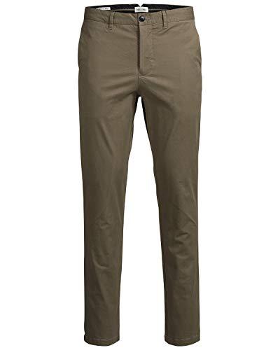 JACK & JONES Jjimarco Jjenzo WW 420 Noos Pantalones, Marrón (Tan), W34/L32 (Talla del Fabricante: 34) para Hombre
