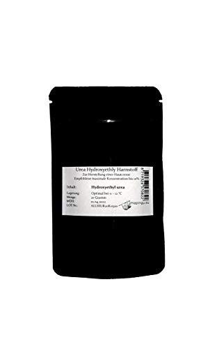 Urea Hydroxyethyl Harnstoff 20g Pulver in bester Kosmetikqualität hornhautlösend feuchtigkeitsspendend