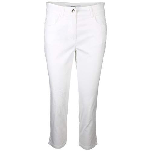 Zerres Damen Hose Cora Größe 44 EU Weiß (weiß)