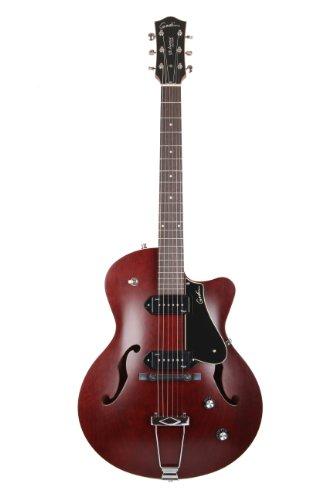 Godin  5th Avenue CW Electric Guitar (Kingpin II, Burgundy)
