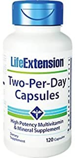 LIFE EXTENSION TWO PER DAY 120 CAPSULES
