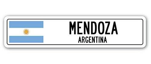 TNND - Señal de Calle de Nueva Mendoza Argentina, Bandera d