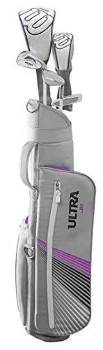 Wilson Ultra Girls Large Junior JR Golf Club Set (Ages 11-14) Left Hand Purple
