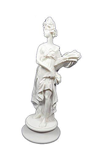 Estia Creations Demeter Statue Antiken Griechischen Göttin der Ernte Skulptur