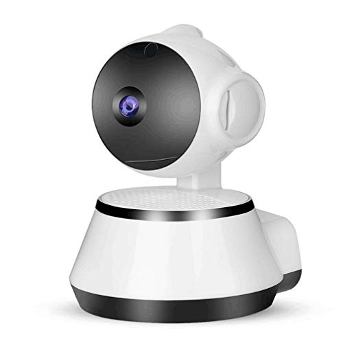 Smart Alarm Monitor IP Camera Cámara de Seguridad inalámbrica Vigilancia Camara White EU