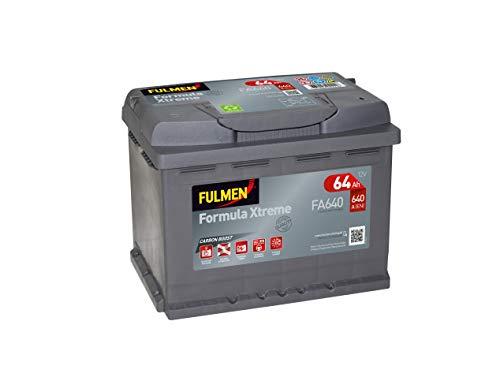 Fulmen Batterie voiture FA64012V 64Ah 640A