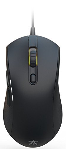 Fnatic Flick 2 Pro Gaming Esports Mouse (Pixart Optical Sensor with 12,000 CPI, 6 Buttons, Mechanical Mouse Switches, Multi-Color RGB Backlit, Ambidextrous) - Black