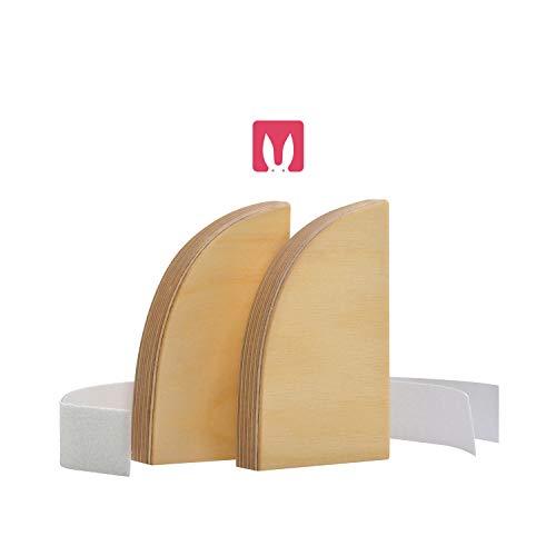 """Bianconiglio Kids ® """"Te la presto"""" estensioni laterali per Learning Tower EVO Trasparente legno a vista"""