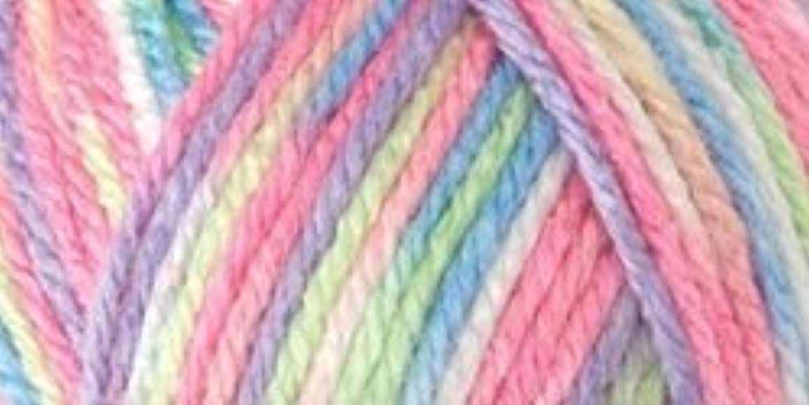 Bulk Buy: Red Heart Soft Baby Steps Yarn (3-Pack) Giggle E746-9937