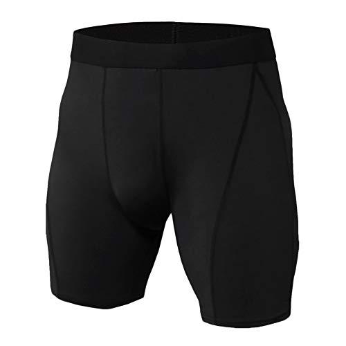 GELing Pantalones Cortos De Compresión Hombre Térmicos Correr Gimnasio Mallas Cortas Running KD64 2XL