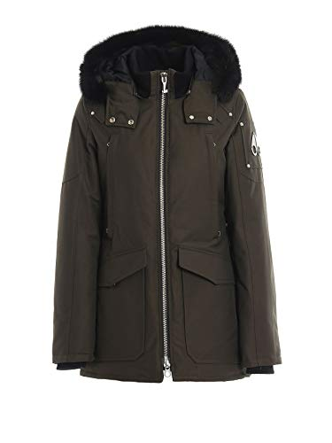 Luxury Fashion | Moose Knuckles Dames MK8508LJ775 Groen Polyamide Outerwear Jassen | Herfst-winter 19