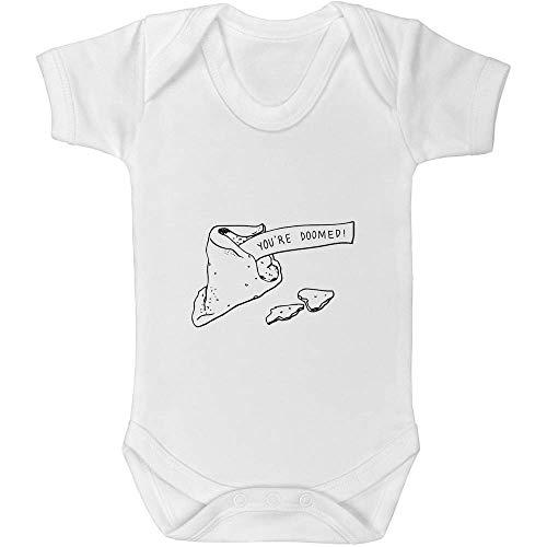 Azeeda 0-3 Monate 'Glückskeks' Baby Body Unisex (GR00030751)