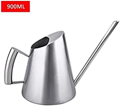 Asdfnfa Gardening Tools Watering Cans Stainless Steel Surface is Polished by Hand Spray Bottle Long Mouth Sprayer (Color : Silver, Size : 26x13cm)