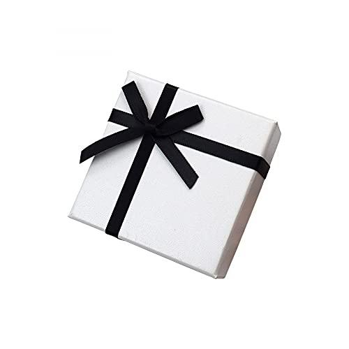 MUY Factory Outlet Joyero Caja de Anillo Exquisita Caja de Collar Caja Colgante Pulsera Pulsera Caja de joyería Caja de Recuerdo para Mujeres Día de S