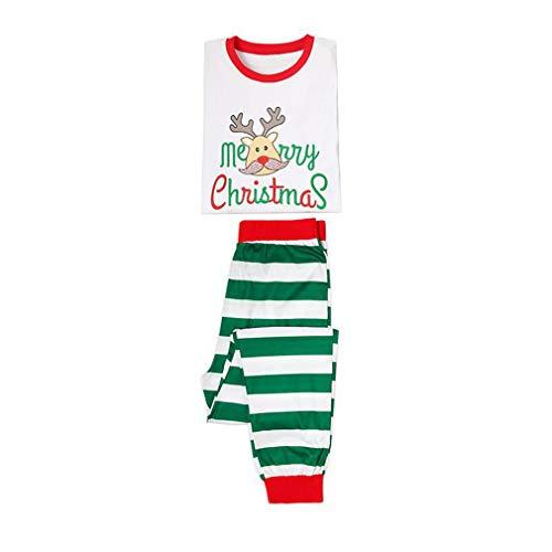 MEIHAOWEI Navidad Pijamas A Juego Familiares para Hombre Adulto para Mujer Niños Ropa Dormir Ropa Dormir Manga Larga Regalo Navidad Otoño Invierno Traje Dad 2XL