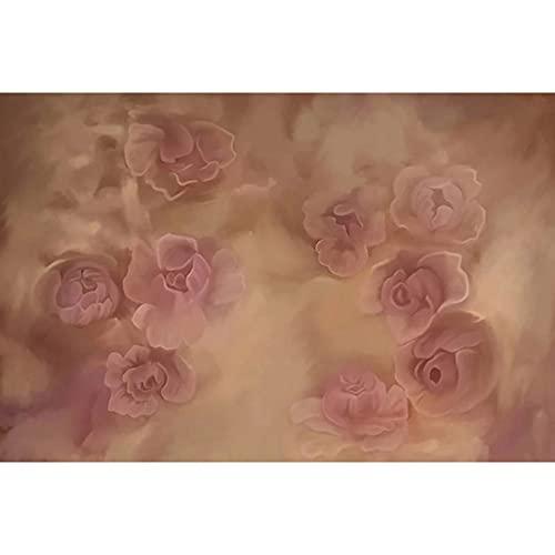 Fondos de decoración de fotografía de Fondo de Pintura de árbol floreciente Rosa de Mariposa de ensueño para Estudio fotográfico A1 9x6ft / 2,7x1,8 m