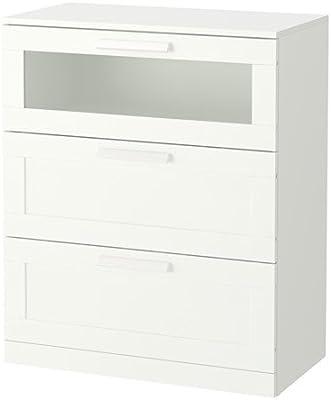 IKEA BRIMNES Kommode mit 3 Schubladen, weiß: Amazon.de