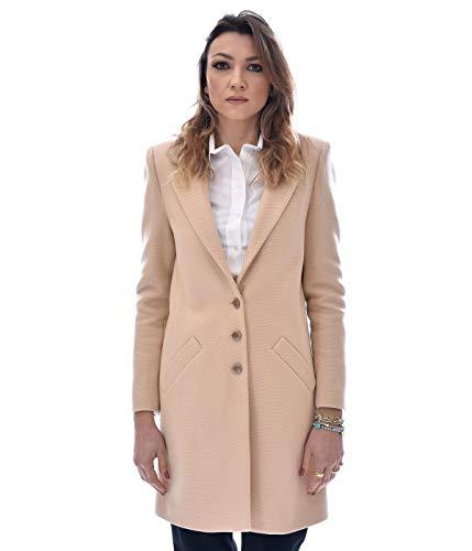 PATRIZIA PEPE Mantel für Damen, beige, frische Wolle, 8S0228/A3KD B524, Beige, 8S0228/A3KD B524 42