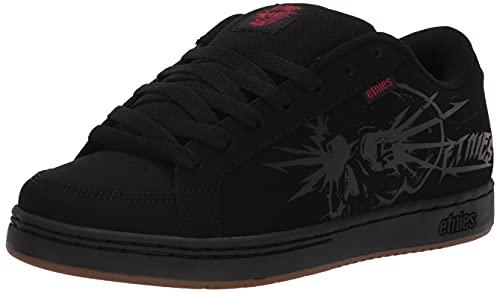 Etnies Kingpin 2, Zapatos de Skate Hombre, Impresión Negra y Negra, 42.5 EU