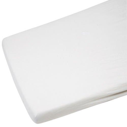4 x voor kinderbed, 100% katoen jersey hoeslaken 140 x 70 cm wit