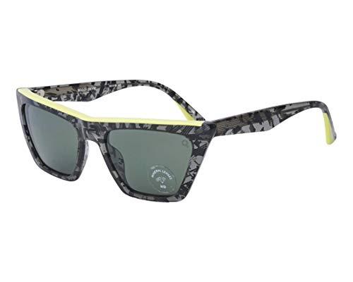 Etnia Barcelona - Gafas de sol - para mujer Negro Marmor Stil Schwarz - Gelbfarben 56