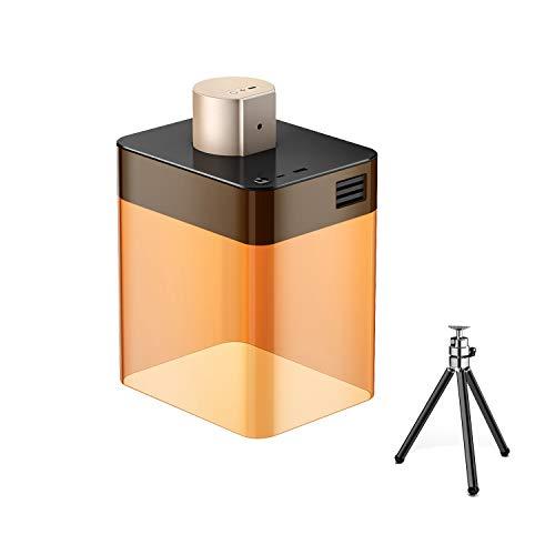 LaserPecker 1600mWレーザー彫刻機 ミニ 刻印機 小型 加工機 インテリジェント APP操作 DIY 道具 ロゴ デザイン 無線 Bluetooth接続 iOS/Android USB充電 CE/FCC/RoHS 認証 スマートフォン操作必
