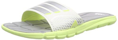adidas Performance Damen Adipure 360 Slide Dusch-& Badeschuhe, Gelb (Light Flash Yellow S15/Mgh Solid Grey/Zero Met.),  39