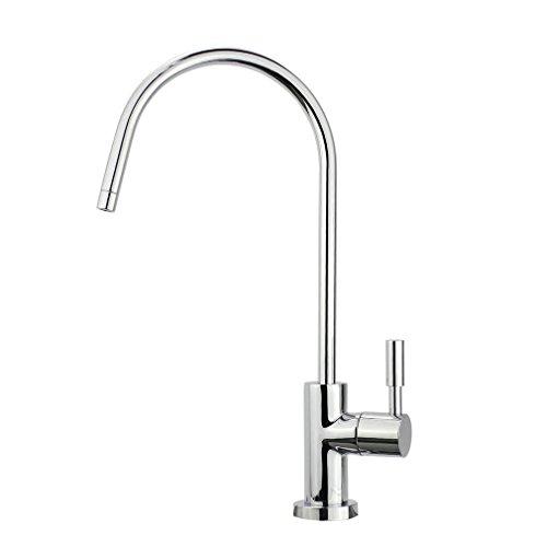 smardy UNO701 Grifo de Cocina, 360° Giratorio para osmosis inversa Agua Purificada (RO)