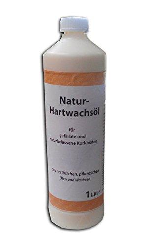 Natur Hartwachsöl - farblos, seidenmatt - 1 Liter