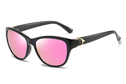 GRAFIT Gafas de sol polarizadas Cateye para mujer para conducir turismo, ciclismo,...