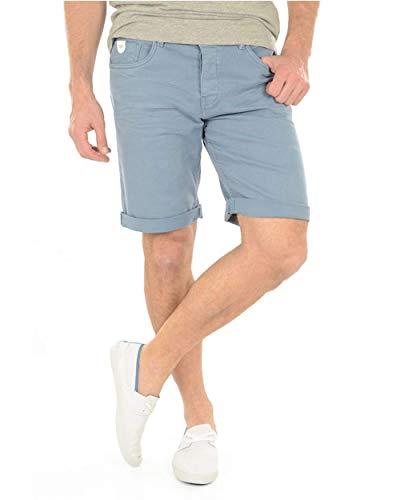 Kaporal Jeans - Pantalon corto jean short para hombre Kaporal Jeans Vito - 31, Azul