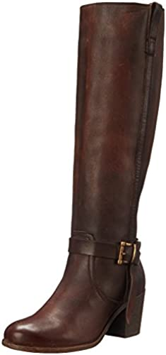 FRYE damen& 039;s Malorie Knotted Tall Riding Stiefel, rotwood, 7 M US